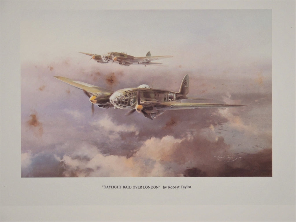 Battle of Britain Portfolio - 40th Anniversary with four Robert Taylor prints