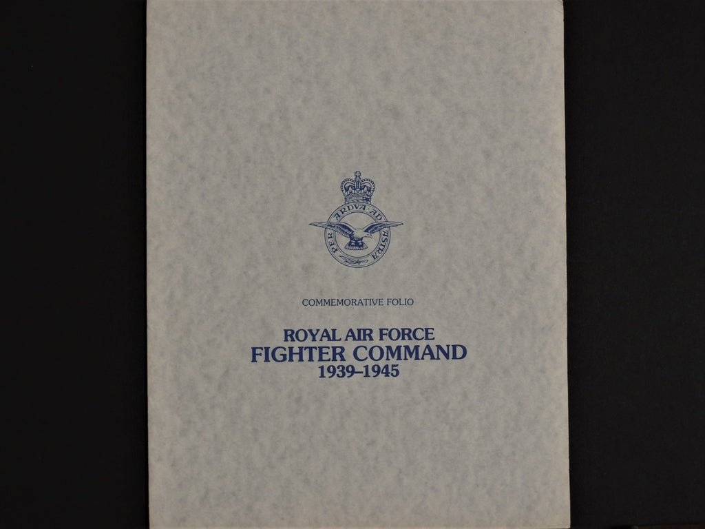 RAF Fighter Command 1939 - 1945 Portfolio with four Robert Taylor prints