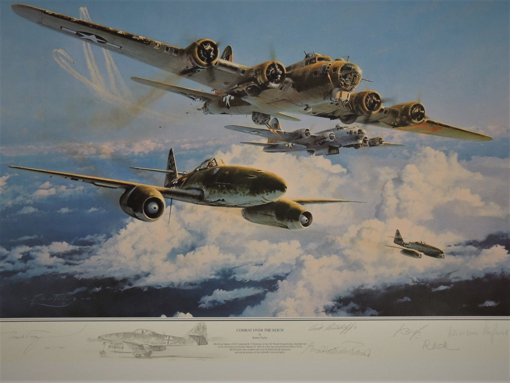 Combat Over the Reich - remarque by Robert Taylor