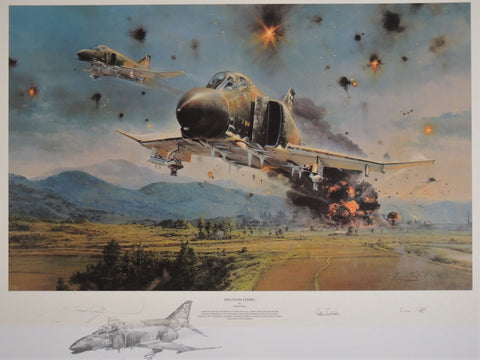 Phantom Strike - remarqued print by Robert Taylor