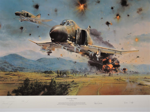Phantom Strike by Robert Taylor - Artist Proof print AP # 41/85