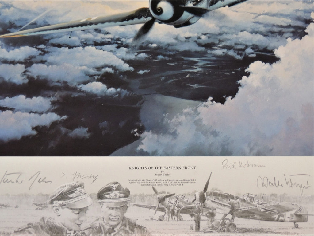 Knights of the Eastern Front by Robert Taylor - Very large commissioned Remarque