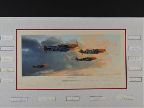 Dawn Eagles Rising by Robert Taylor - Matted 33 signature Proof Edition
