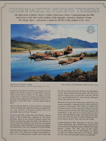 Chennaults Flying Tigers by Robert Taylor