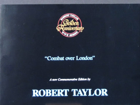 """Combat over London"" by Robert Taylor"