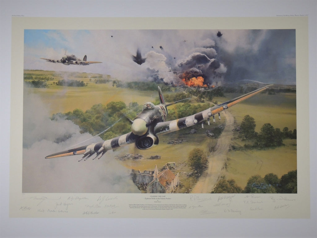 """Closing the Gap"" by Robert Taylor - Normandy Veterans edition (95)"
