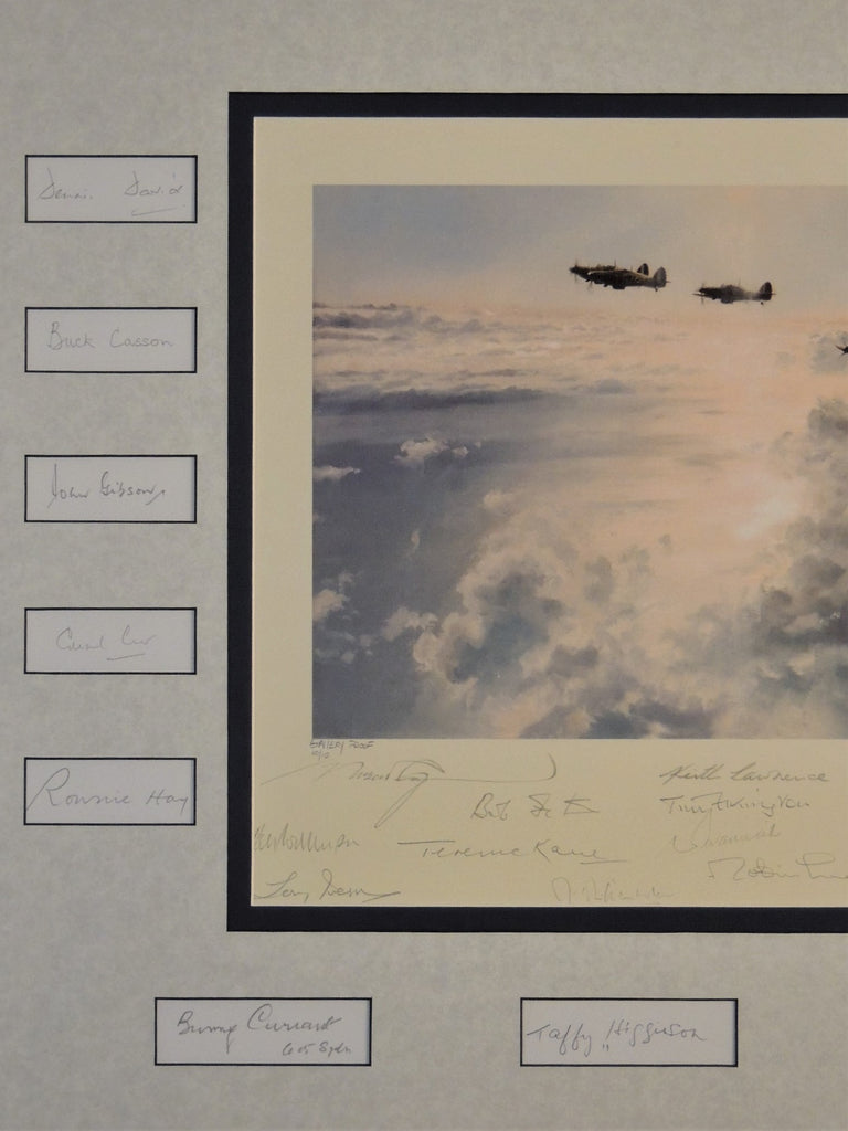 Height and Sun by Robert Taylor - Proof Edition signed by 40 RAF Battle of Britain pilots