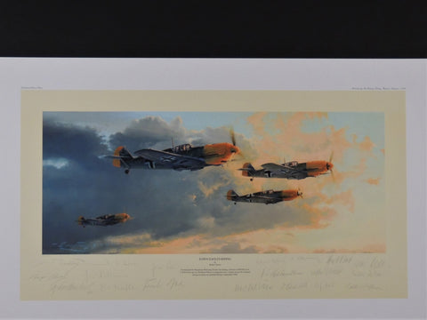 Dawn Eagles Rising by Robert Taylor - Mukti signed Tribute Edition