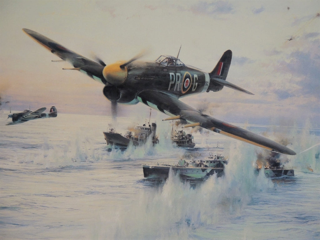 Typhoon Attack by Robert Taylor - Remarqued