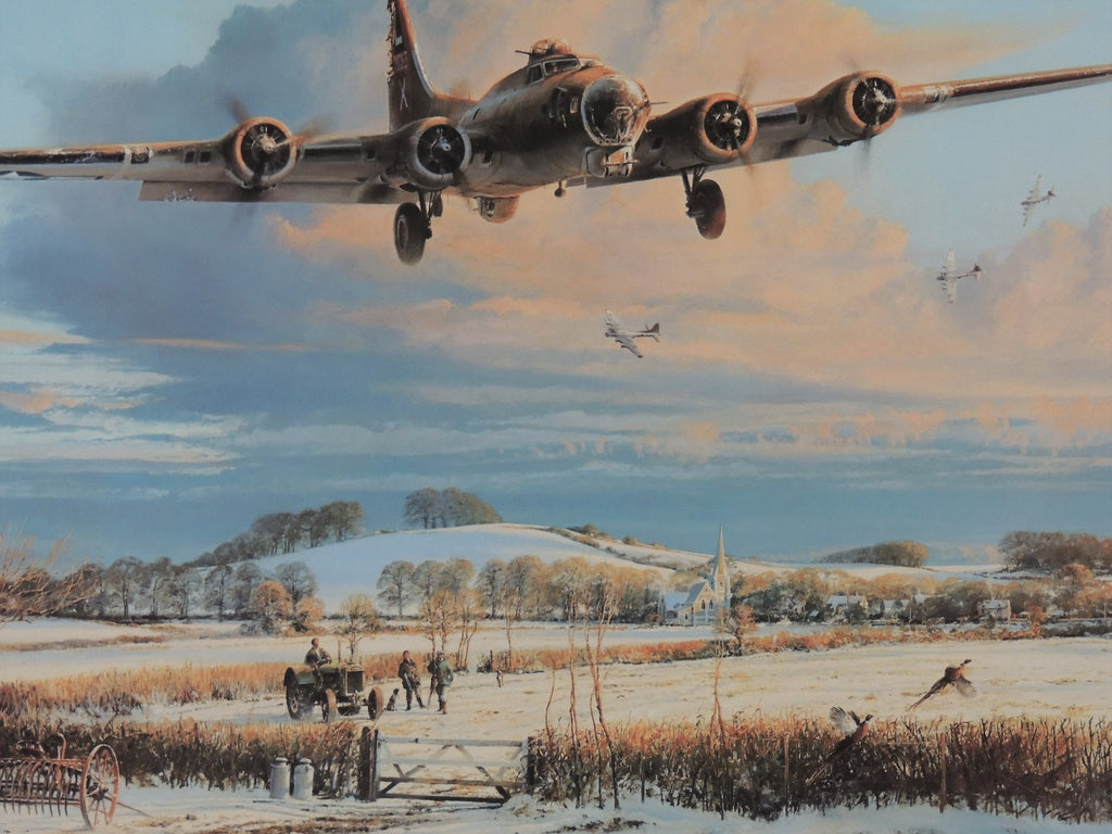 Winters Welcome by Robert Taylor