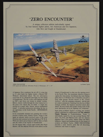 Zero Encounter by Robert Taylor