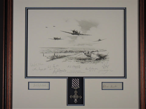 Spitfire Country - Original pencil drawing by Nichols Trudgian
