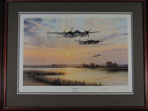 Broken Silence by Robert Taylor - Framed by Aces High, Artist Proof # 30/50