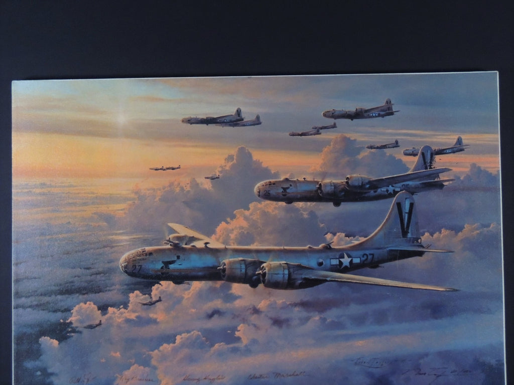 Valor In The Pacific by Robert Taylor - Rare canvas edition #31/100