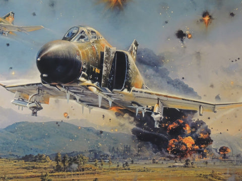 Phantom Strike by Robert Taylor - Canvas Giclee Studio Proof # 1/75