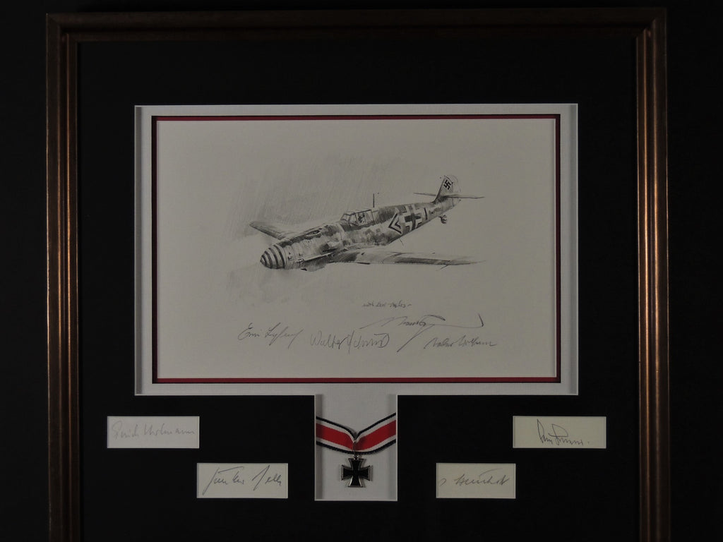 Original Drawing by Robert Taylor - Framed and matted by Aces High
