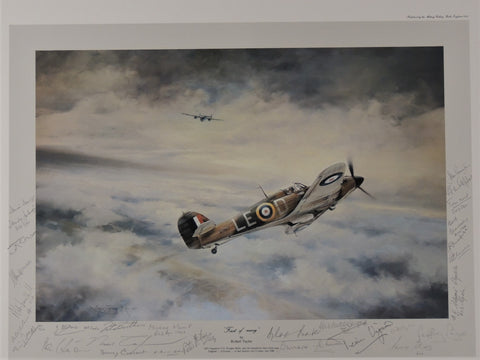 First of Many by Robert Taylor - Signed by 28 Battle of Britain Pilots