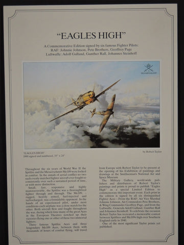 Eagles High by Robert Taylor - Rare AP