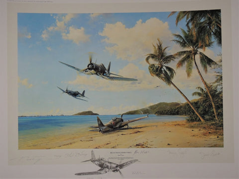 Beach Head Strike Force by Robert Taylor - Double Remarque