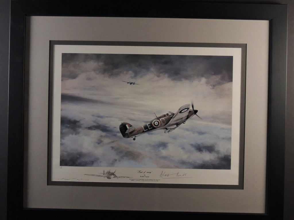 First of Many by Robert Taylor - Rare remarque nicely framed