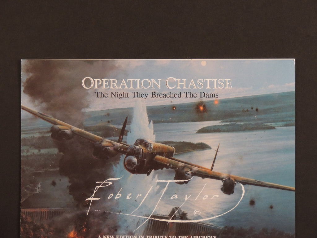 Operation Chastise by Robert Taylor - Double remarque