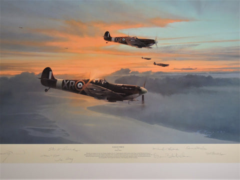 Eagle Force by Robert Taylor - The Eagle Tribute Proof edition of 40, print #22/40