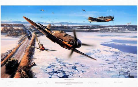 Collectors aviation art Three Hundred Club