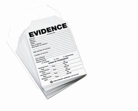 Evidence Tag/Label