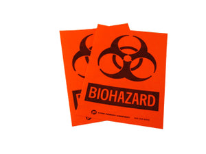 "Biohazard Labels, 1.5""x1.5"""