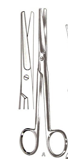 "Mayo Dissecting Scissors, Straight, 6.75"" -German"