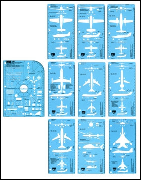 IPTM AeroBlitz Aircrash Investigation Templates, Set of 10