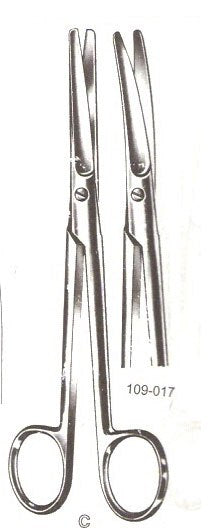 "Mayo Dissecting Scissors, Curved, 9""-Pakistan"