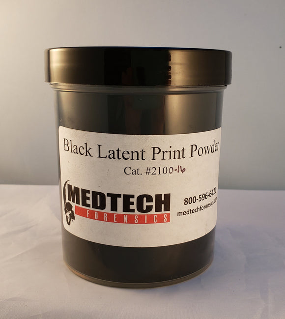Latent Print Powder, Black, 16 oz