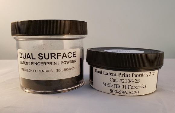 Latent Print Powder, Dual Surface, 2 oz