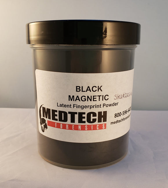 Magnetic Latent Print Powder, Black, 16 oz
