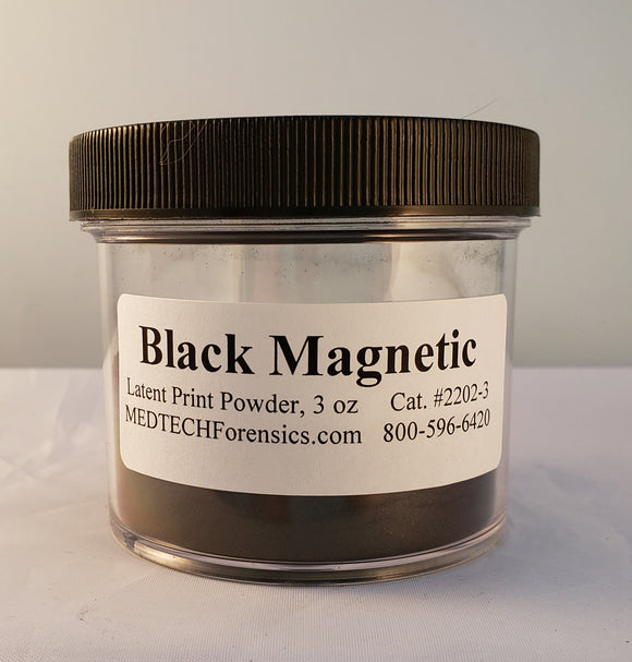 Magnetic Latent Print Powder, Black
