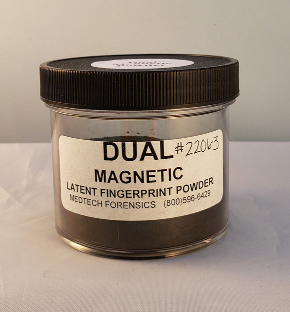 Magnetic Latent Print Powder, Dual Surface
