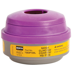 North® Organic Vapors/Acid Gases/P100 Respirator Cartridges