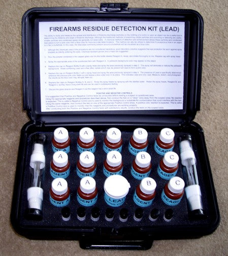 Firearms Residue Detection Kit (Lead)