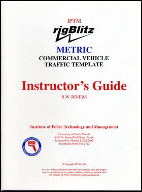 IPTM Guide, Blitz Commercial Vehicle Traffic Template - Metric