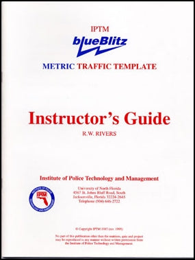 IPTM Instructor's Guide for the blueBlitz Traffic Template - Met