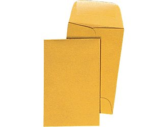 Coin Envelope. #7, 100/pk