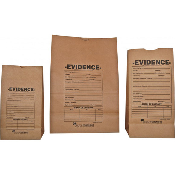 Evidence Preprinted Paper Bags