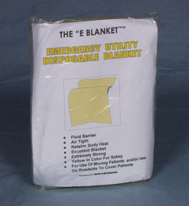 Emergency Blanket, Yellow