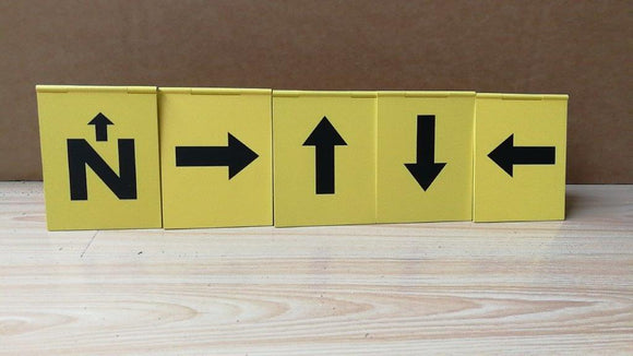 Hinged Directional Markers