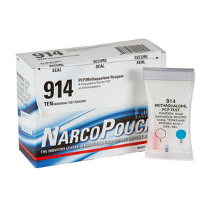 NarcoPouch Test 914 - PCP/Methaqualone Test-SALE