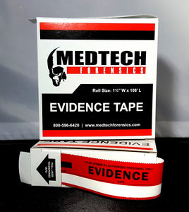 Evidence Tape, Red & White, 108x1.25, each
