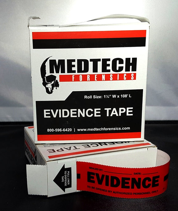 Evidence Tape, Red, 108x1.25, Each