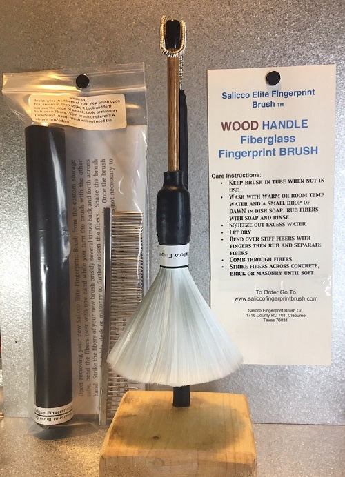 Salicco Elite Fingerprint Brush