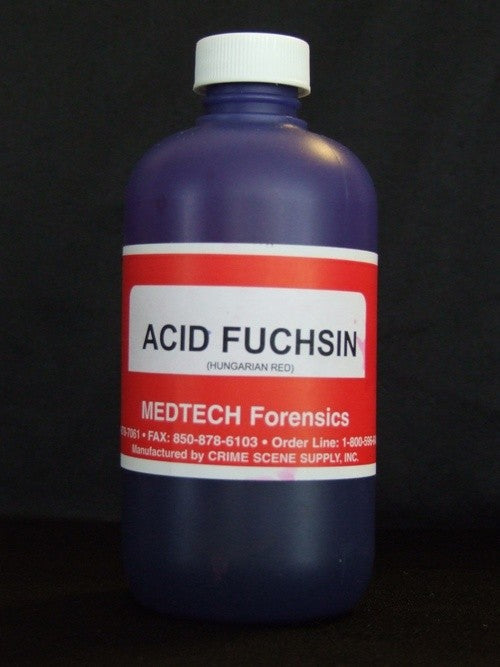 Acid Fuchsin (Hungarian Red) with fixative